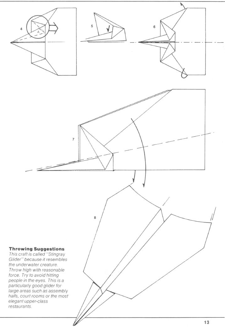 best flying paper airplane instructions